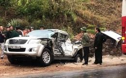 Ô tô đâm nhau liên hoàn trên Quốc lộ 6, 4 người bị thương