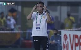 """""""Mourinho Việt Nam"""" thất vọng vì cách hòa Hà Nội FC, buông lời chê ngoại binh quá kém cỏi"""