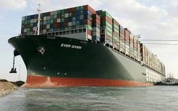Tàu Ever Given được giải phóng sau khi đội cứu hộ loại bỏ 27.000 mét khối cát ở kênh đào Suez