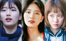 Nhan sắc ngoài đời của mỹ nhân Hàn thủ vai xấu xí: Suzy mặt mộc đẹp choáng váng, Lee Sung Kyung - Han Hyo Joo 1 trời 1 vực