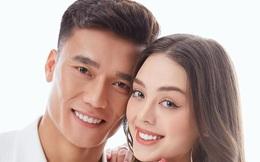 Tiến Dũng nhún nhảy cùng bạn gái mẫu Tây trong thang máy