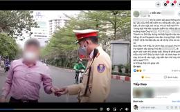 """CSGT nói về tin đồn lãnh đạo Thanh tra Sở Xây dựng Hà Nội đi vào ngõ """"né"""" đo nồng độ cồn"""
