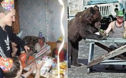 Bộ ảnh chứng minh người Nga thường xuyên 'mải lên, quên xuống' khi tiệc tùng, đã quẩy là phải hết nút mới chịu cơ