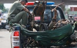 Xót xa hình ảnh còn lại sau đám cháy khiến 6 người trong một gia đình tử vong ở TP.Thủ Đức