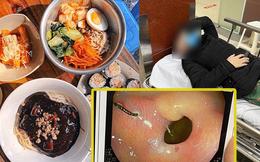 """SỐC: Khách ăn gimbap bị mắc móc sắt vào dạ dày, quán ăn """"vứt"""" cho 2 triệu rồi bảo """"lỗi không hoàn toàn do quán"""""""
