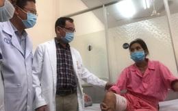 """Lần đầu tiên: Bệnh viện Việt Nam cắt bỏ thành công """"khối u quỷ"""" cho người mắc căn bệnh """"di truyền 100% cho con gái"""""""