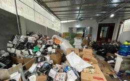Phát hiện kho hàng hàng hiệu 'dỏm', chốt hơn 3.000 đơn/ngày tại Hà Nội