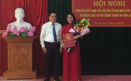 Bổ nhiệm Phó chánh thanh tra tỉnh Lạng Sơn