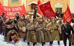 Nước Nga, mùa xuân 1918