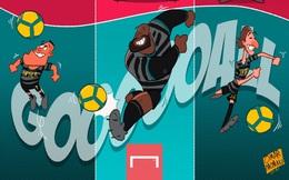 """Biếm họa 24h: HLV Pep Guardiola trừng trị """"Bầy sói"""""""