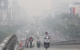 Sương mù làm gia tăng ô nhiễm không khí tại Hà Nội