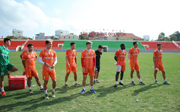 Sân Quy Nhơn tính phương án mở cửa tự do trận gặp Đà Nẵng