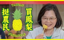 Trung Quốc cấm nhập dứa, Đài Loan hoá giải như chuyện vặt: 4 ngày bán trên đảo bằng cả năm bán cho Đại lục