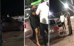 """Video: Bị bạn gái chia tay, người đàn ông bám trên nắp ca-pô xe BMW, quyết """"đòi quà"""""""