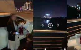Clip hot 'dừng ô tô trên cầu Trần Thị Lý để tỏ tình với vợ': Cứ lãng mạn hết nấc, tránh 'lên phường giải quyết'!