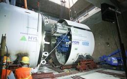 Robot 'Thần tốc' sẵn sàng khoan hầm tuyến metro Nhổn - ga Hà Nội