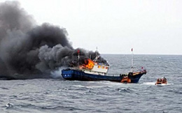 Thuyền cá Palestine bị nổ làm3 người thiệt mạng, truyền thông đổ lỗi cho hải quân Israel
