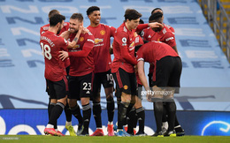 Man City 0-2 Man United: Bruno Fernandes và Luke Shaw đánh sập Etihad