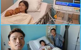 Diễn viên Hồng Trang nằm viện: Hoài Linh và loạt sao Việt vào động viên