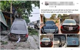 """Người đàn ông rao bán Mercedes cam đoan hàng mới, 30 phút sau đã bị """"bóc"""" nói dối bằng 2 bức ảnh"""