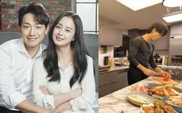 Bi Rain lần đầu hé lộ căn bếp siêu sang của biệt thự trăm tỷ, trổ tài nấu cho Kim Tae Hee đúng chuẩn 'nghiện vợ'