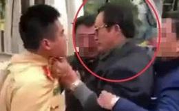 Kỷ luật cảnh cáo Chi cục trưởng túm cổ áo CSGT khi bị kiểm tra nồng độ cồn ở Tuyên Quang