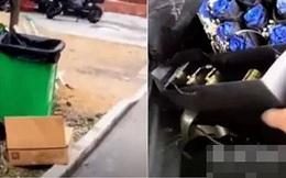 Vô tình nhặt được hộp quà trong thùng rác, người phụ nữ sửng sốt khi thấy món đồ giá trị bên trong