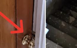 Thấy ổ khóa bất thường trên cánh cửa tủ ở nhà mới, bà mẹ thử mở thì rùng mình phát hiện căn hầm bí mật dưới sàn với tình tiết như phim kinh dị
