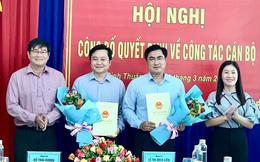 Hai phó Bí thư Tỉnh đoàn Bình Thuận nhận chức Phó giám đốc sở