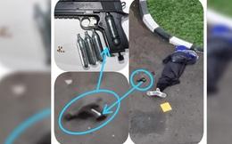 """Đến sở cảnh sát Indonesia xả súng, """"sói đơn độc"""" hết đường sống"""