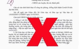 Bắc Ninh bác thông tin về việc cho học sinh nghỉ học từ 1/4 đến 16/4