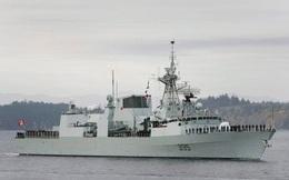 Tàu chiến Canada đi qua quần đảo Trường Sa