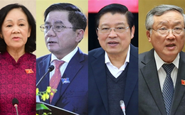 Chân dung 4 Ủy viên Bộ Chính trị vừa được phân công tham gia Ban Bí thư khóa XIII