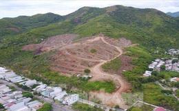 Dự án khu biệt thự hướng biển ở Nha Trang làm trên đất rừng, không có trong quy hoạch