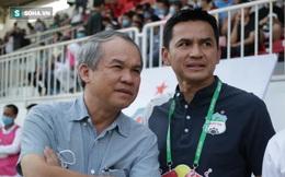 """Bị bầu Đức mỉa mai, Chủ tịch CLB Quảng Ninh: """"Đi xem bóng đá cứ thua là phải khóc à?"""""""
