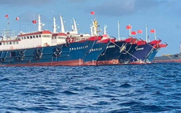 Philippines triệu Đại sứ Trung Quốc về việc đội tàu trên Biển Đông