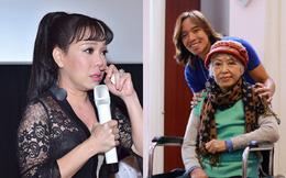 """Việt Hương nghẹn ngào báo tin buồn: """"Con chào mẹ, cảm ơn mẹ đã yêu con"""""""