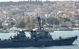Nga tập trận trên biển Đen, Mỹ hủy kế hoạch triển khai tàu chiến?