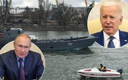 """BNG Ukraine: Nga """"cấm cửa"""" eo Kerch dẫn vào Biển Đen, cản trở tàu chiến nước ngoài tập trận"""