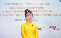 """Nữ tỷ phú Việt vừa nhận Huân chương Bắc đẩu bội tinh: Hàng loạt """"lần đầu tiên"""" phi thường"""