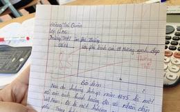 """Mạnh dạn viết """"lời đường mật"""" vào bài kiểm tra, cậu học trò nhận lại câu trả lời cực """"tỉnh"""" từ cô giáo"""