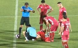 Sau tấm thẻ đỏ vì cú đánh chỏ thô thiển, Sài Gòn FC tạo ra trận cầu thảm họa ở V.League