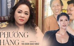 Toàn cảnh drama của dàn sao Việt và vợ Dũng 'lò vôi': Từ phát ngôn 'đám nghệ sĩ' đến gọi tên NS Hoài Linh, khẩu chiến với Trang Khàn, Trịnh Kim Chi