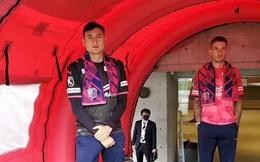 Văn Lâm đầy tự tin trong ngày ra mắt Cerezo Osaka, gửi thông điệp tới CĐV bằng tiếng Nhật