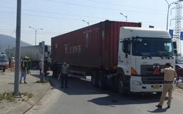 Đà Nẵng: Xe container cuốn xe đạp điện vào gầm, một người tử vong