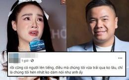 Người thuộc ekip phim Song Song của Nhã Phương ủng hộ Nhất Trung: 'Rồi cũng có người lên tiếng điều chúng tôi vừa trải qua không lâu'