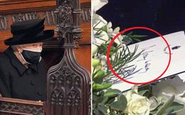 Hé lộ chi tiết ngọt ngào trong bức thư Nữ hoàng tự tay viết đặt trên linh cữu Hoàng thân Philip cùng kỷ vật đặc biệt bà giữ trong túi suốt tang lễ
