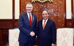 Đại sứ Mỹ chuyển thư chúc mừng của Tổng thống Biden tới Chủ tịch nước Nguyễn Xuân Phúc