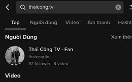 Kênh TikTok đăng clip Thái Công đi ăn bún riêu bất ngờ biến mất giữa ồn ào