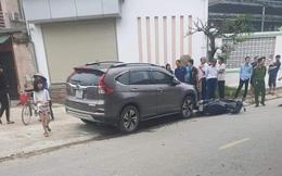 Nữ tài xế điều khiển xe ô tô CRV va chạm với xe máy khiến 2 mẹ con tử vong thương tâm